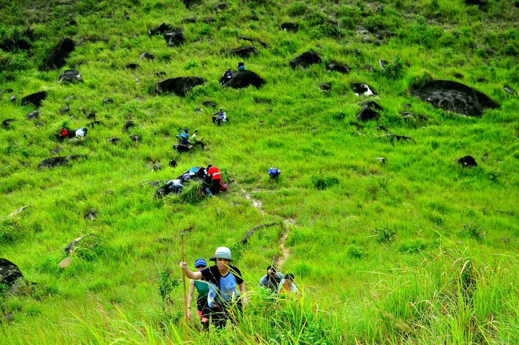trekking Núi Chúa