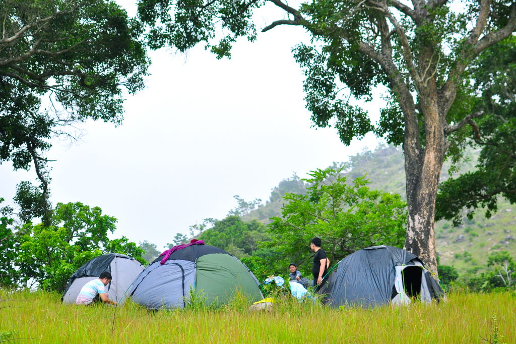 cắm trại Núi Chúa